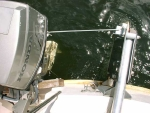 Rudder to Outboard steering link