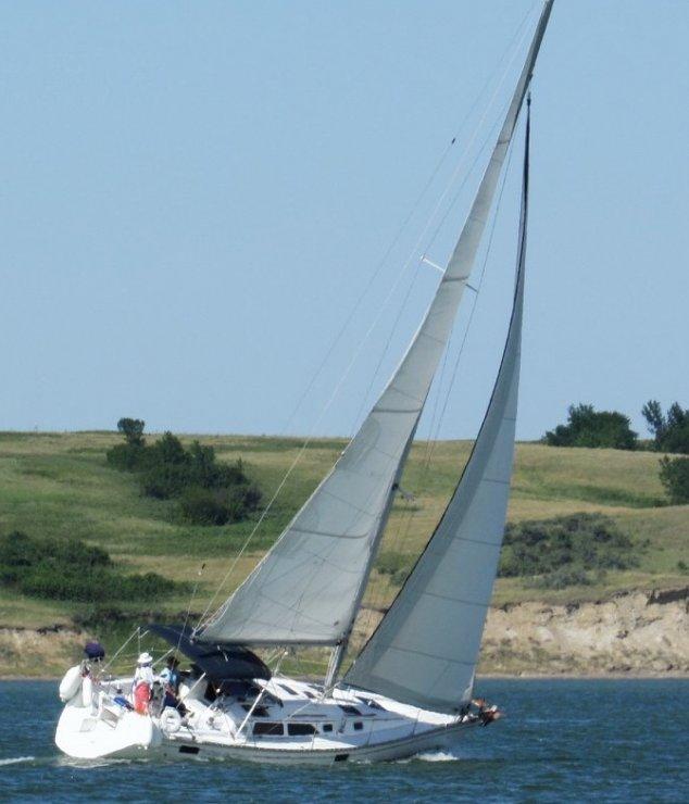 hunter sailboat parts - Jack & Katie