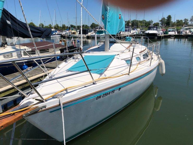 Catalina 25 Sailboat Parts