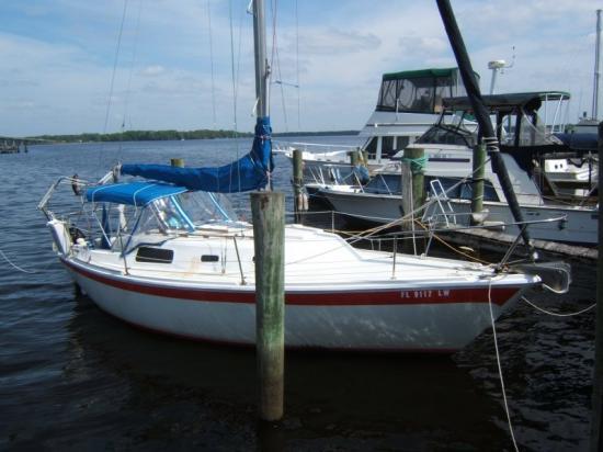 Photo of Cal 2-27 sailboat
