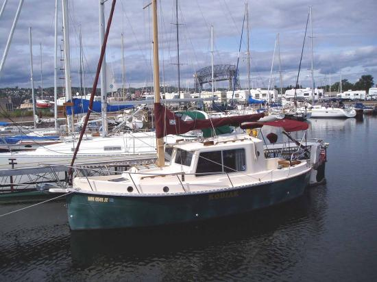 Photo of Nimble Kodiak sailboat