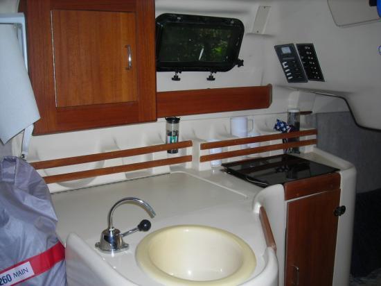 Photo of Hunter 260 sailboat