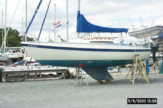 Photo of Tanzer 26 sailboat
