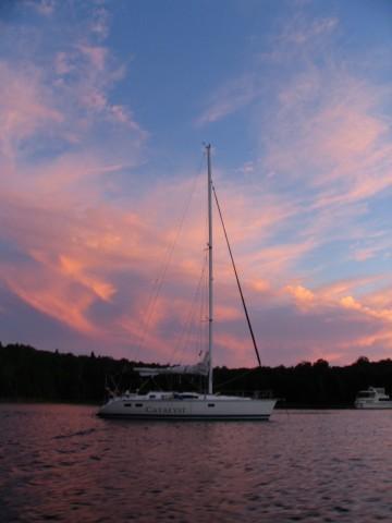 Photo of Hunter 40.5 sailboat