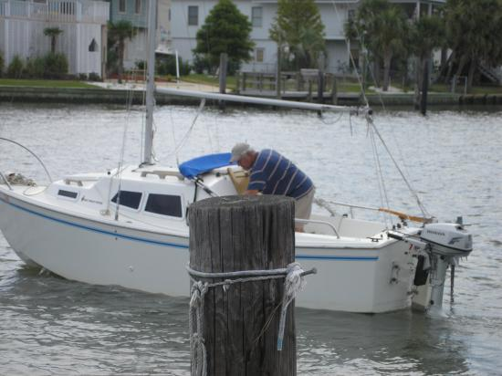 Photo of West Wight Potter 19 sailboat