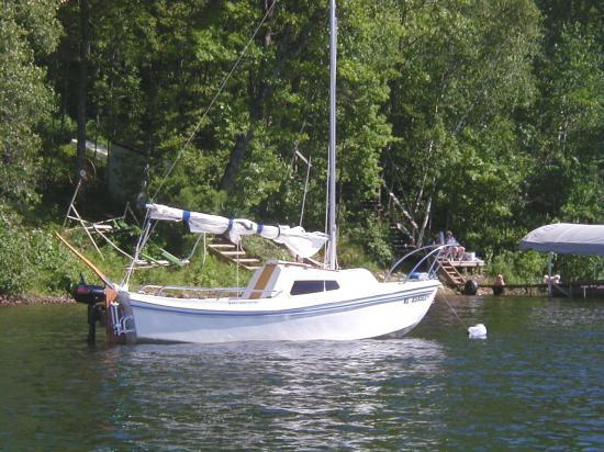 Photo of West Wight Potter WWP-15 sailboat