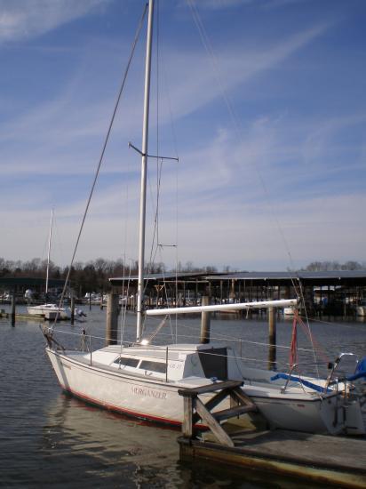 Photo of Cal 22 sailboat
