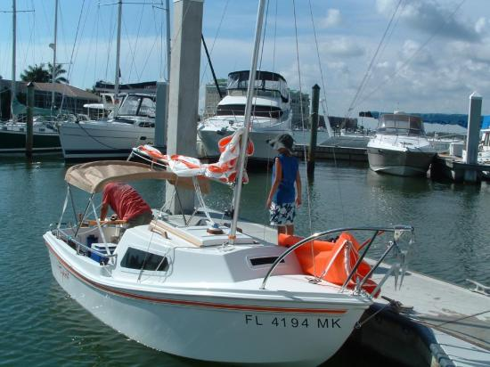 Photo of West Wight Potter P15 sailboat