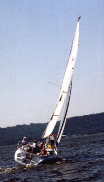 Photo of Hunter 29.5 sailboat