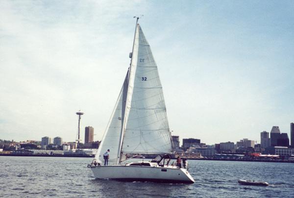 Photo of Hunter Vision-32 sailboat