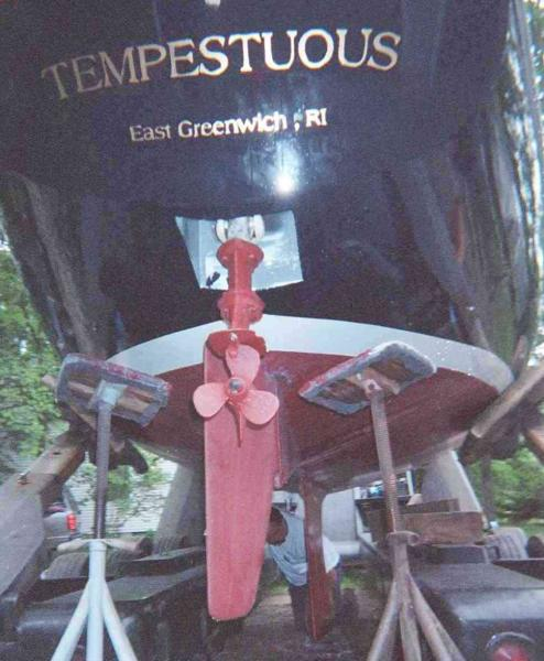 Photo of Oday Tempest sailboat