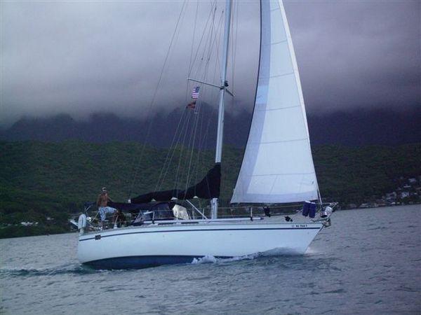 Photo of Hunter 40 sailboat