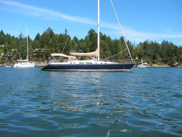 Photo of Hunter 54 sailboat