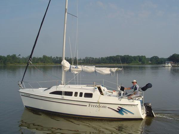 Photo of Hunter 26 sailboat