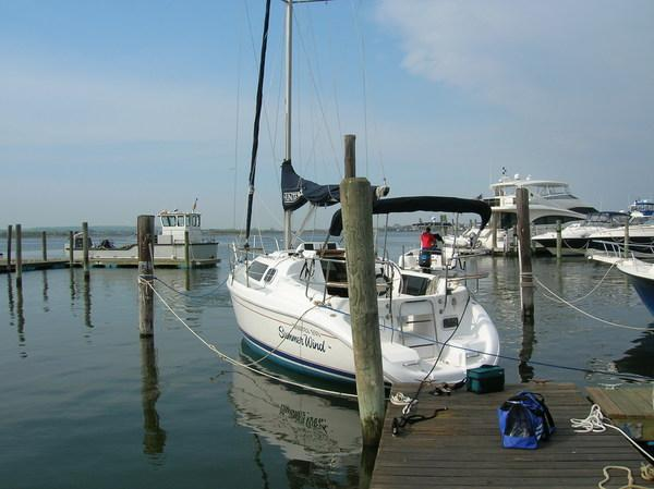 Photo of Hunter 280 sailboat
