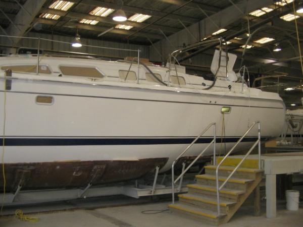 Photo of Hunter 49 sailboat