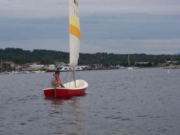 Photo of Oday 12 sailboat