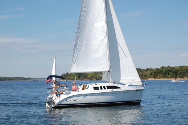 Photo of Hunter 270 sailboat