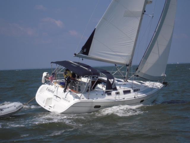 Photo of Hunter 356 sailboat