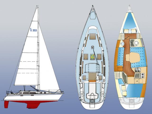 Photo of Hunter 33.5 sailboat