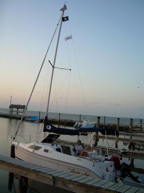 Photo of Hunter 25 sailboat