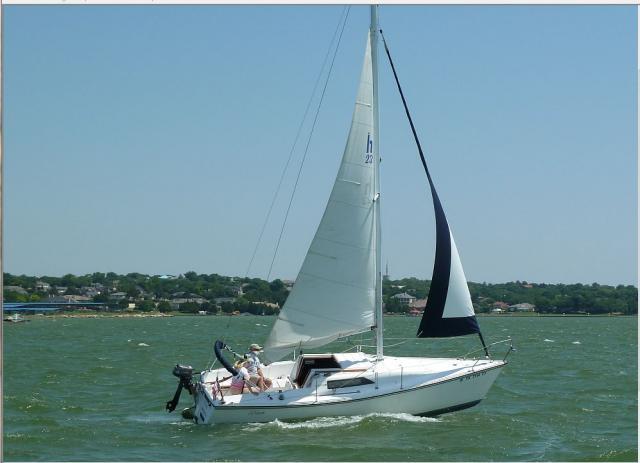 Photo of Hunter 23 sailboat