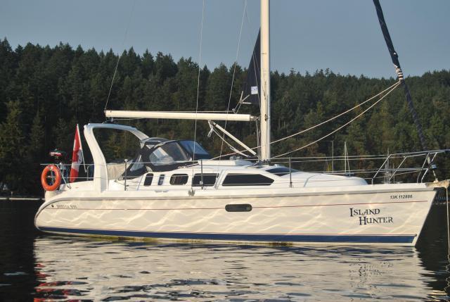 Photo of Hunter 310 sailboat