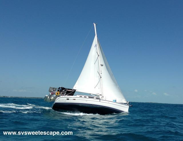 Photo of Hunter 426DS sailboat