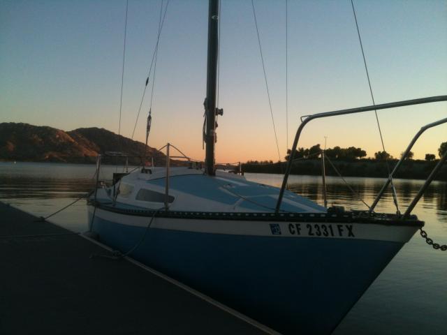 Photo of Lancer 25 sailboat